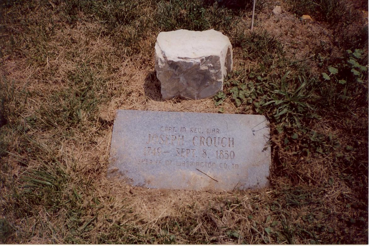 Gravestone of Joseph Crouch