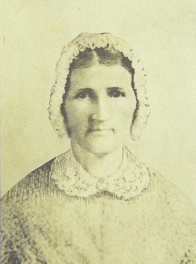 Mary Pasley Milam, daughter of Captain Robert Pasley
